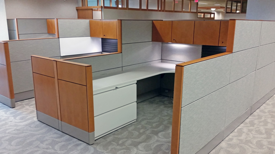 High Quality Office Cubicle Design And Install